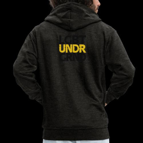 LGBT UNDERGROUND - Men's Premium Hooded Jacket