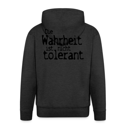 tolerant (JESUS-shirts) - Männer Premium Kapuzenjacke