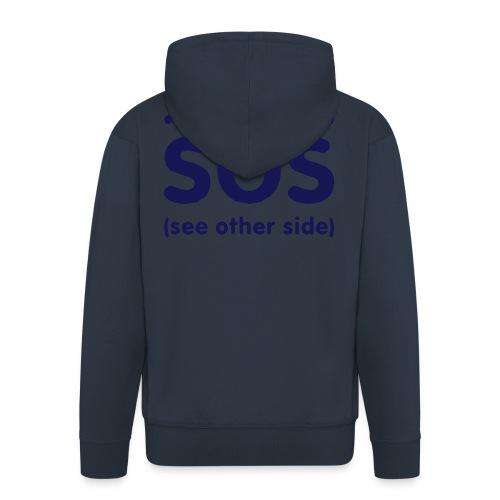 SOS - Mannenjack Premium met capuchon