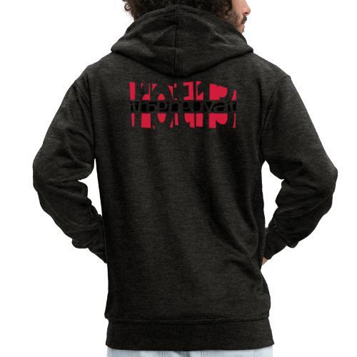 rot13 - 2colors - Männer Premium Kapuzenjacke