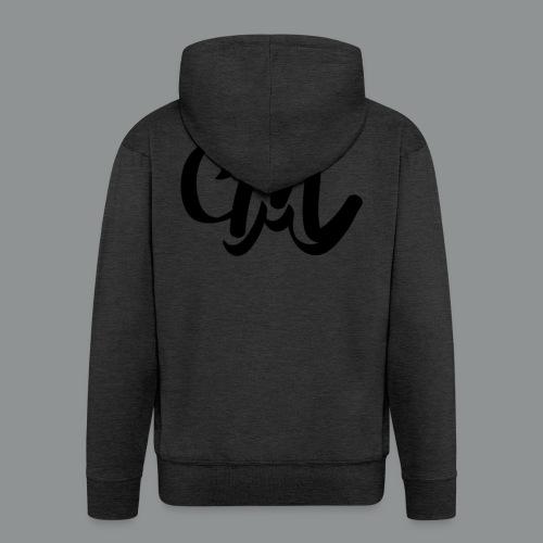 Button CM - Mannenjack Premium met capuchon