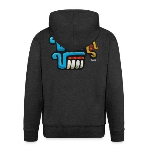 Aztec Icon Rain - Men's Premium Hooded Jacket