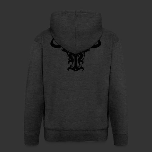 Bull - Männer Premium Kapuzenjacke