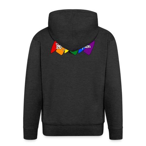 Pride Kite - Men's Premium Hooded Jacket