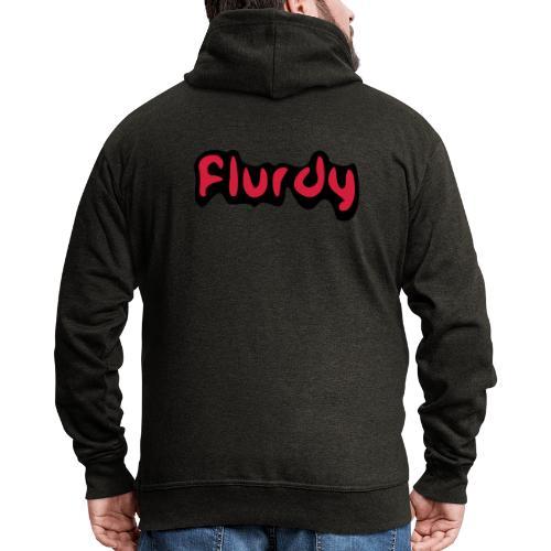 flurdy warped - Men's Premium Hooded Jacket