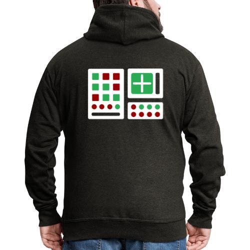 Classic Computer 2 - Männer Premium Kapuzenjacke