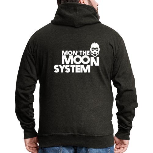 Mon' The Moon System - Men's Premium Hooded Jacket