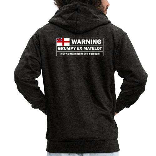 Grumpy Ex-matelot - Men's Premium Hooded Jacket