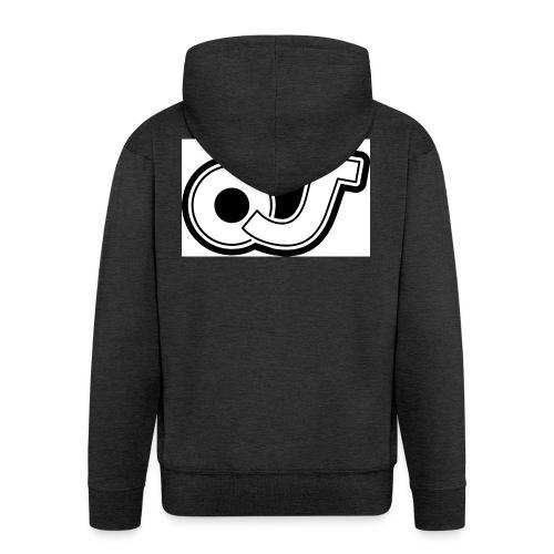 OJ_logo - Mannenjack Premium met capuchon