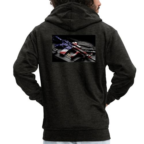 American Gangster - Männer Premium Kapuzenjacke