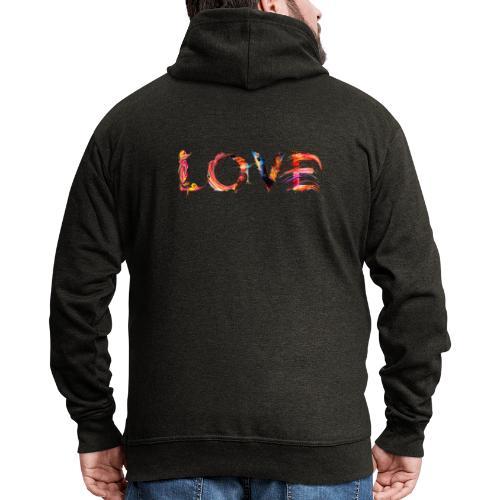 Love - Veste à capuche Premium Homme