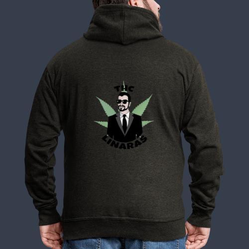 Classic THC - Men's Premium Hooded Jacket