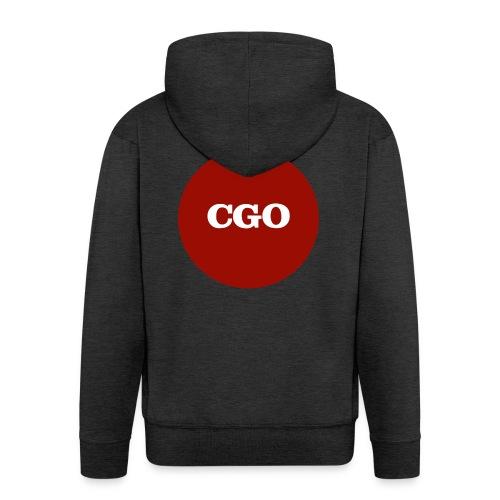 watermerk cgo - Mannenjack Premium met capuchon