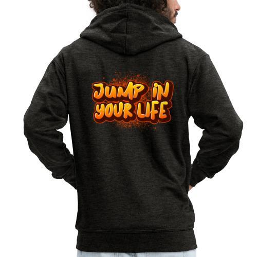 La vie... - Veste à capuche Premium Homme
