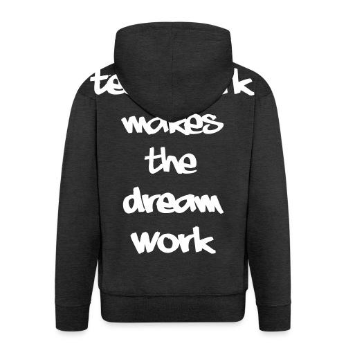 Teamwork - Mannenjack Premium met capuchon
