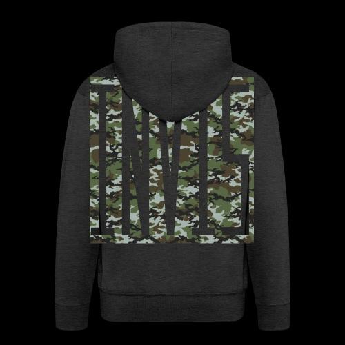 INVIS Camouflage - Männer Premium Kapuzenjacke
