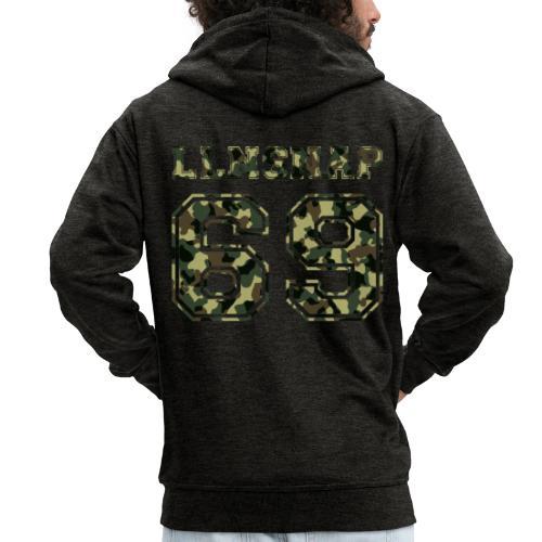 LLNsnap 69 (camo) - Veste à capuche Premium Homme