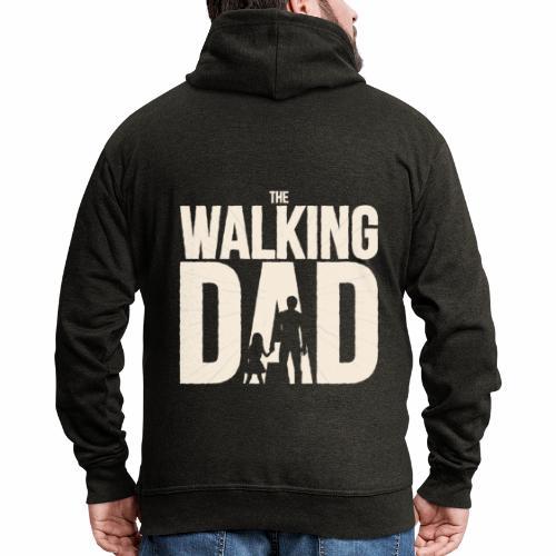The walking Dad - Design für die besten Väter - Männer Premium Kapuzenjacke
