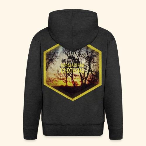 Sunset Treeline - Men's Premium Hooded Jacket