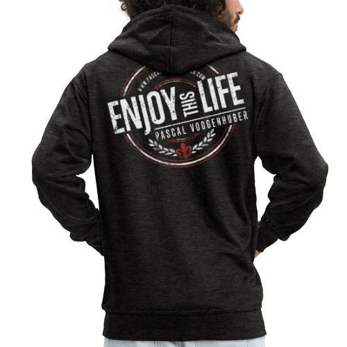 Enjoy this Life® & Fleur de Lys Pascal Voggenhuber - Männer Premium Kapuzenjacke