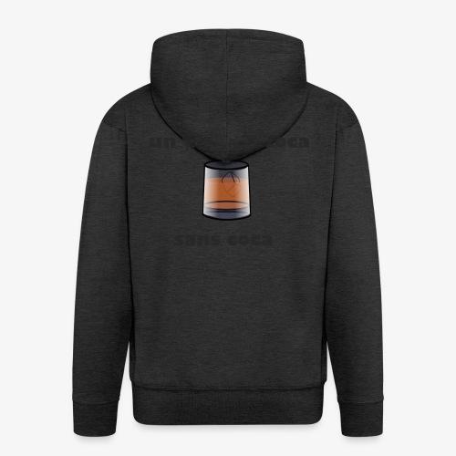 un whisky-coca sans coca - Veste à capuche Premium Homme
