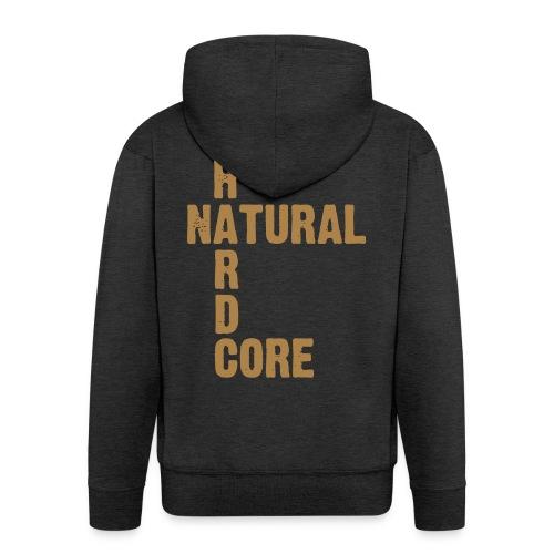 natural hardcore - Männer Premium Kapuzenjacke
