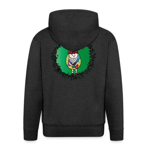 Weihnachtswichtel - Männer Premium Kapuzenjacke