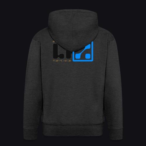 LIZ Before the Plague (Logo) - Felpa con zip Premium da uomo