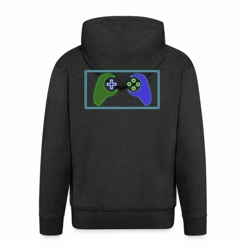 Rational Gamers - Men's Premium Hooded Jacket