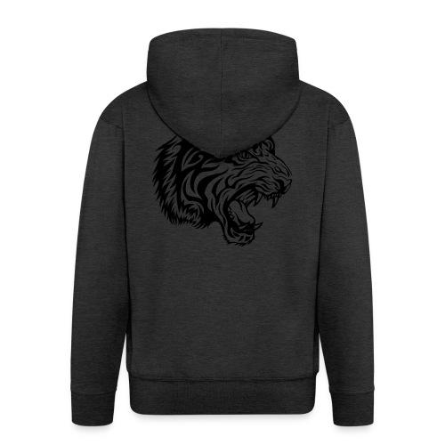 Tiger - Men's Premium Hooded Jacket