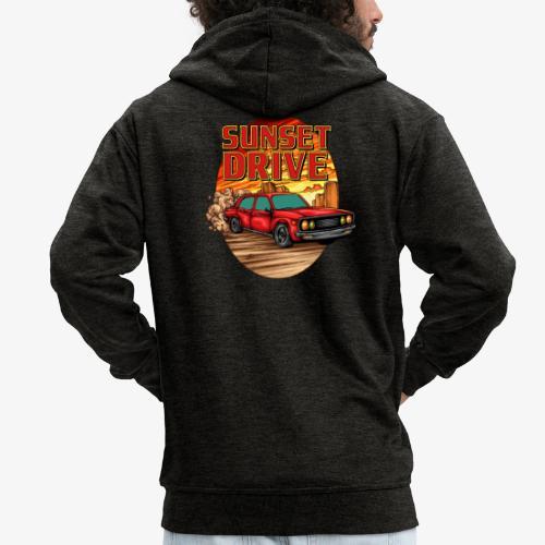 Sunset Drive - Männer Premium Kapuzenjacke