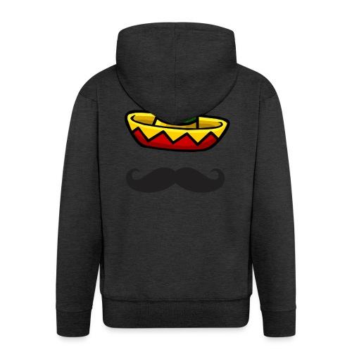 Fantôme mexicain - Veste à capuche Premium Homme
