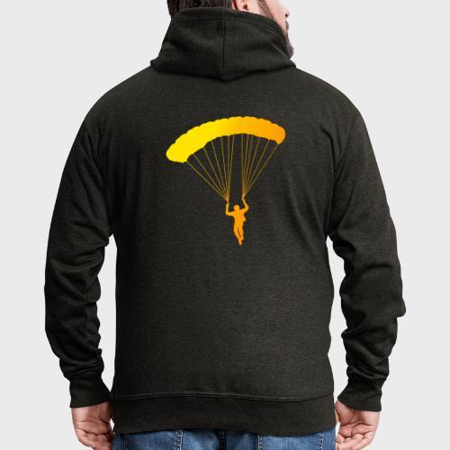 Colorfull Skydiver - Männer Premium Kapuzenjacke