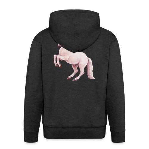 White stallion - Männer Premium Kapuzenjacke