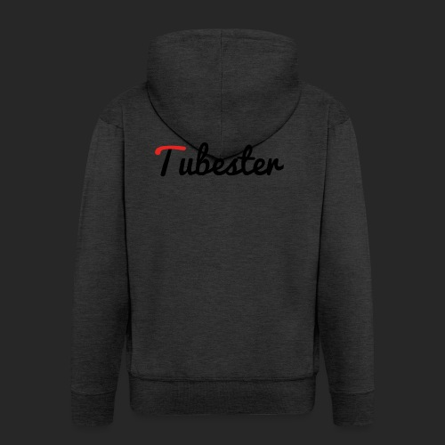 Tubester font - Men's Premium Hooded Jacket