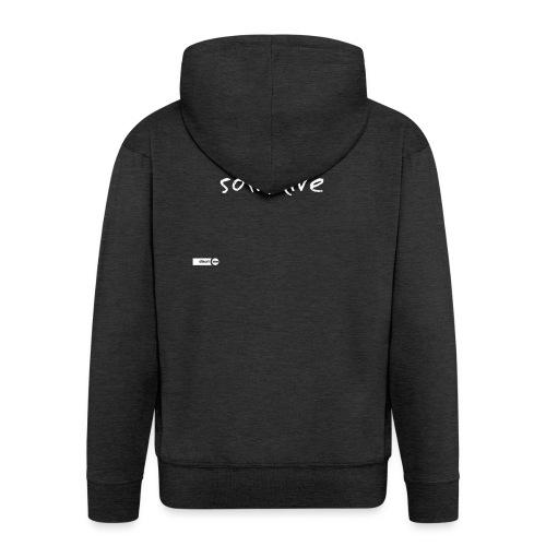 animal solitaire - Veste à capuche Premium Homme