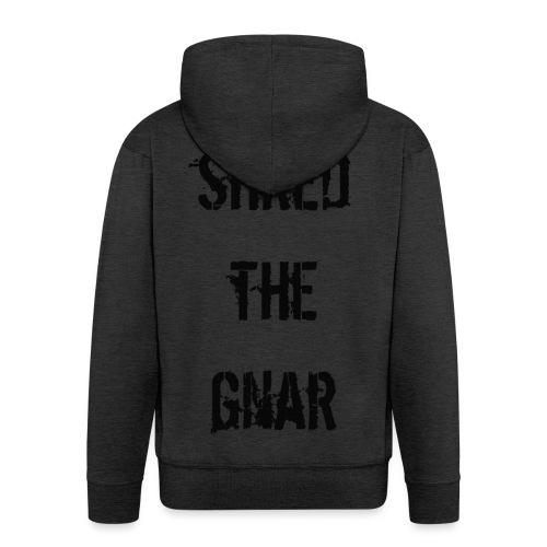 Shred the Gnar - Men's Premium Hooded Jacket