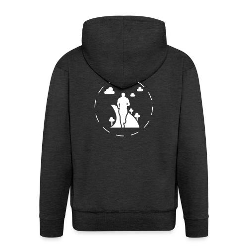'Road Runner' Range - Men's Premium Hooded Jacket