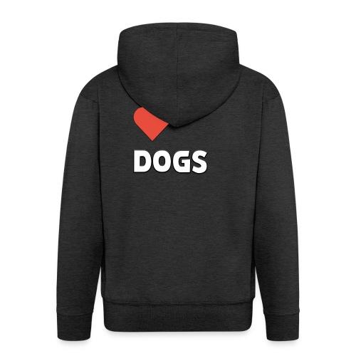 I Just Love Dogs - Premium-Luvjacka herr