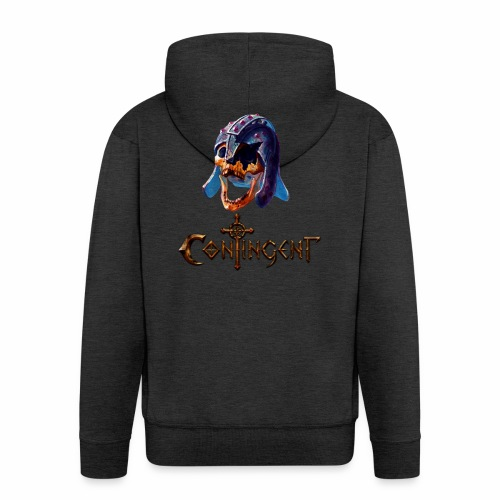 Contignent Logo - Men's Premium Hooded Jacket