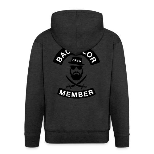 Bachelor Crew member - JGA T-Shirt - Bräutigam - Männer Premium Kapuzenjacke