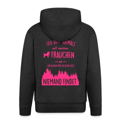 Vorschau: Mein Frauchen - Männer Premium Kapuzenjacke