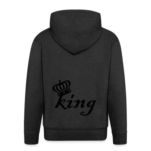 King (Parejas I) - Chaqueta con capucha premium hombre