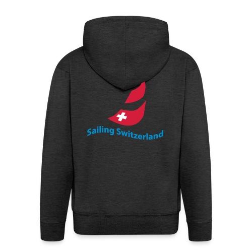 logo sailing switzerland - Männer Premium Kapuzenjacke