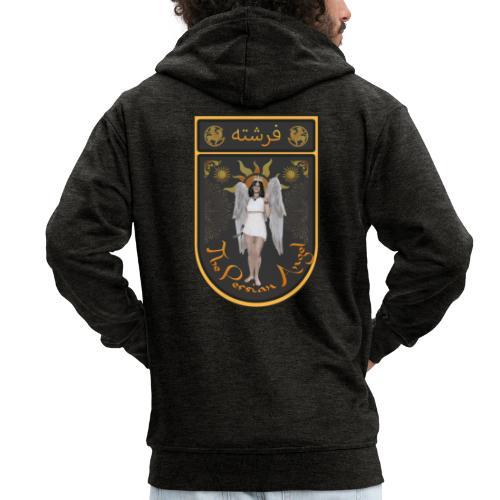 Persian Angel Anahita - Farsi Angel - Men's Premium Hooded Jacket