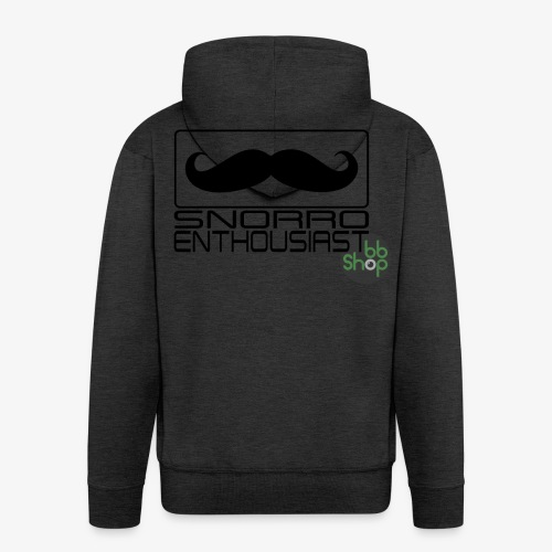 Snorro enthusiastic (black) - Men's Premium Hooded Jacket