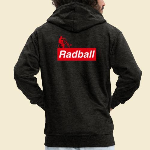 Radball | Red - Männer Premium Kapuzenjacke