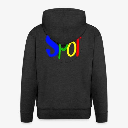 spotCircle Colour - Men's Premium Hooded Jacket