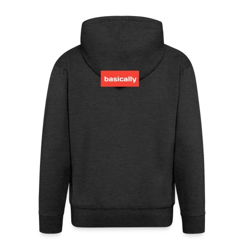 Basically merch - Men's Premium Hooded Jacket