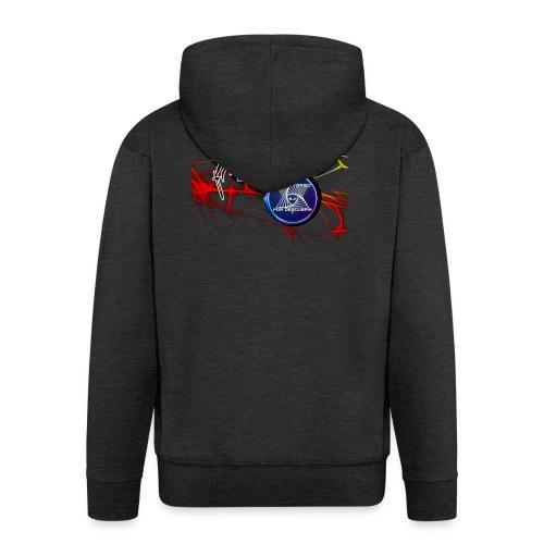 FUSION LOGOS 2 - Men's Premium Hooded Jacket